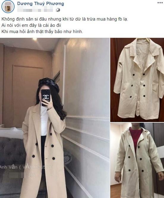 Bà xã hoa khôi của đội trưởng Quế Ngọc Hải khóc ra tiếng mán vì nhận áo mua online như giẻ lau nhà-1
