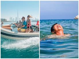 Thưởng ngoạn những chốn xa xỉ ở Dubai bằng thuyền tự lái