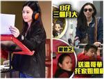 Hot: Trương Bá Chi vô tình làm lộ mặt con trai sơ sinh thứ ba-4