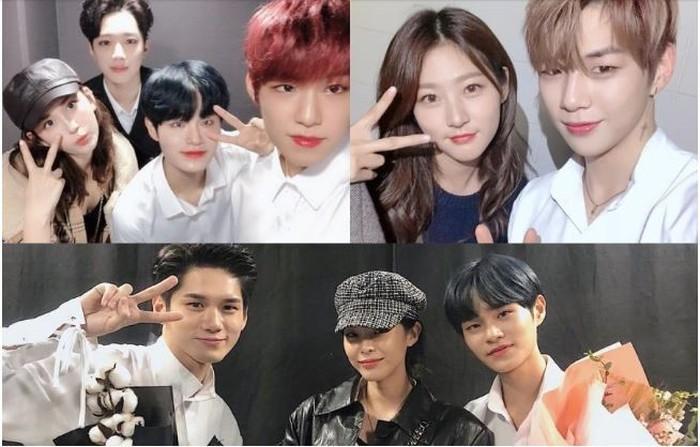 Nhiều nghệ sĩ nổi tiếng đến xem đêm nhạc cuối cùng của WANNA ONE-4