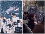 Nhiều nghệ sĩ nổi tiếng đến xem đêm nhạc cuối cùng của WANNA ONE