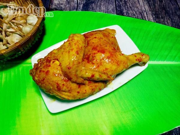 Phát thèm với món thịt gà hấp mắm xả ngon thật ngon-9