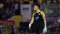 Bất ngờ rời đội tuyển cũ để trở thành tân binh CLB Hà Nội, thủ môn Bùi Tiến Dũng tiết lộ: 'Đồng đội không ai biết việc này'
