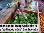 Tắm nước nóng kiểu 'lẩu người' hút khách ở Trung Quốc