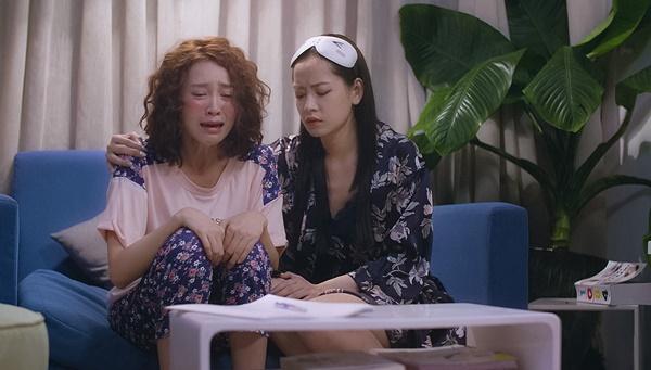 Chi Pu bất lực nhìn Lan Ngọc khóc lóc vì lụy tình trong tập 8 Mối Tình Đầu Của Tôi-3