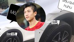 Vừa khoe tậu xế sang đắt tiền, Phan Văn Đức khiến người nhìn xuýt xoa tiếc của khi đầu xe bỗng dưng méo xẹo