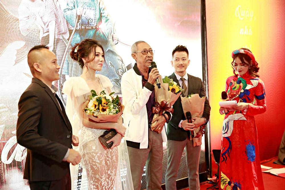 Sau chuỗi ngày chống chọi với căn bệnh ung thư, diễn viên Lê Bình xuất hiện khỏe mạnh tại sự kiện ra mắt phim Táo quậy-3