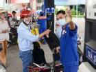 Giá xăng dầu giữ nguyên dịp Tết Nguyên đán