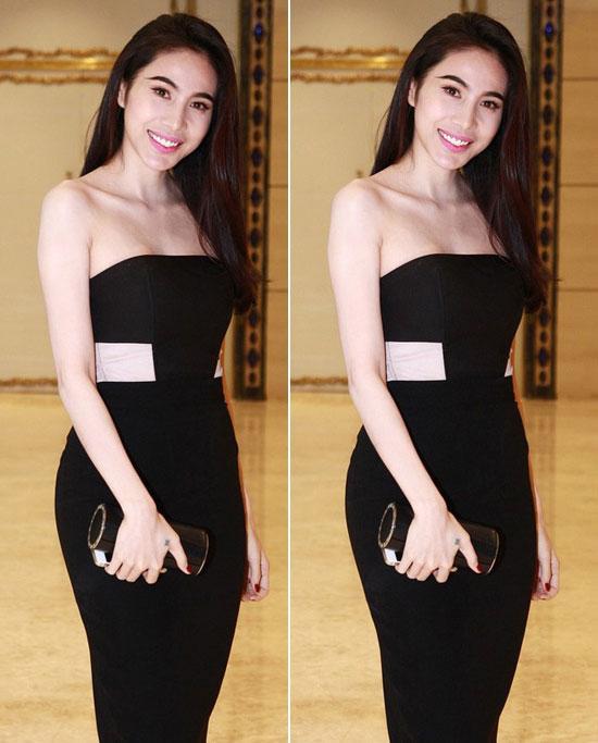 Đến Lan Khuê, Mai Phương Thúy cũng phải chào thua Ngọc Trinh khoản mặc đầm ống 60 phân sexy-11