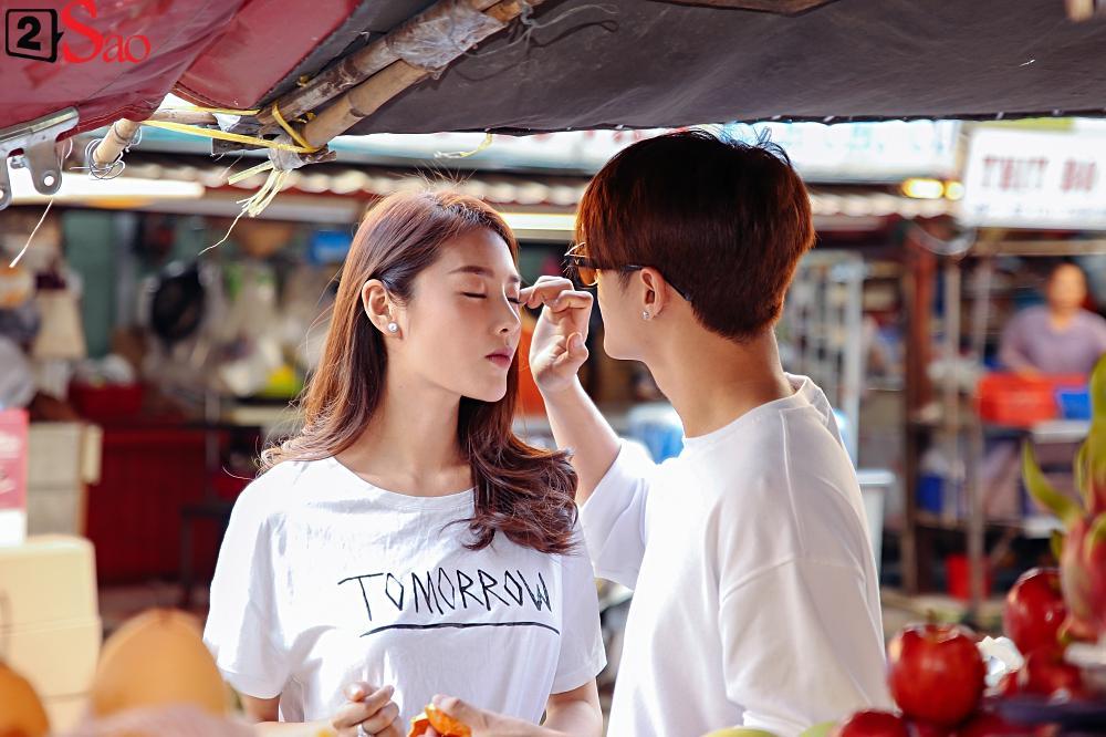 Ngắm Linh Chi - Lâm Vinh Hải tình tứ đi chợ Tết, ai cũng mong cặp đôi sớm báo hỷ trong năm mới Kỷ Hợi-10