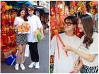 Ngắm Linh Chi - Lâm Vinh Hải tình tứ đi chợ Tết, ai cũng mong cặp đôi sớm báo hỷ trong năm mới Kỷ Hợi