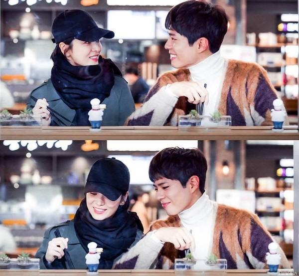 Park Bo Gum thường xuyên có cảm xúc với Song Hye Kyo trong Encounter, chưa từng diễn cảnh say rượu trước đây-1