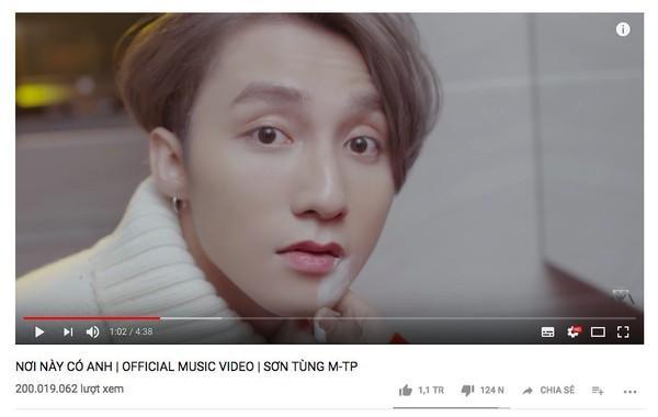 MV đầu tiên của Sơn Tùng M-TP đạt mốc 200 triệu view: chính thức gọi tên ca khúc…-1