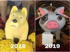 Dân mạng chế ảnh lợn siêu nhân, heo hoa hậu bị chê xấu dịp Tết