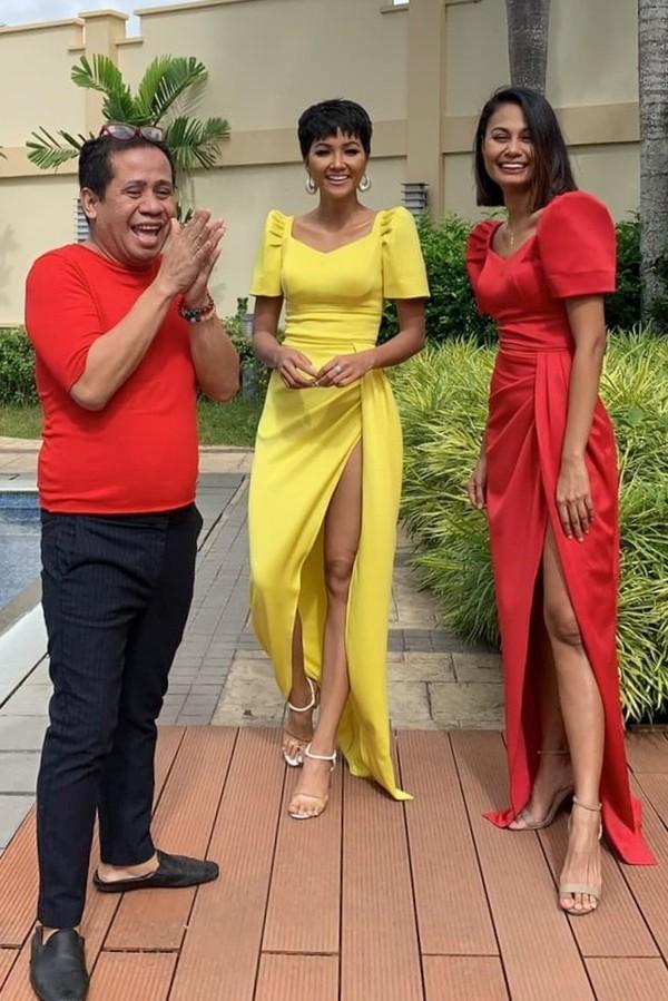 Vừa gặp mặt, HHen Niê liền đọ trình catwalk siêu xịn với Hoa hậu đẹp nhất thế giới 2010 Venus Raj-4