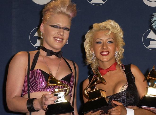 Christina Aguilera phủ nhận từng đấm vào mặt kẻ thù Pink-1