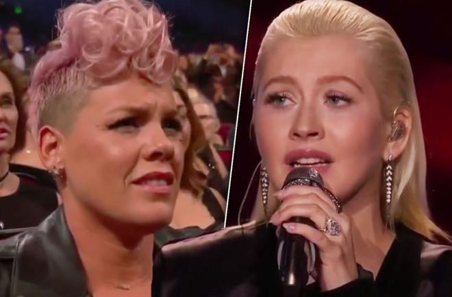 Christina Aguilera phủ nhận từng đấm vào mặt kẻ thù Pink-2