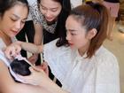 6 tháng sau khi kết hôn, em dâu xinh đẹp của ca sĩ Minh Hằng đã sinh con gái cực đáng yêu