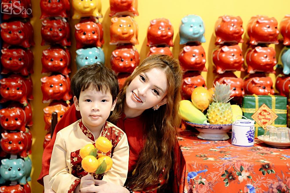 Phủ nhận có bạn trai mới, Thu Thủy nêu tiêu chí: Người đàn ông tôi yêu phải thương cả con trai tôi-9