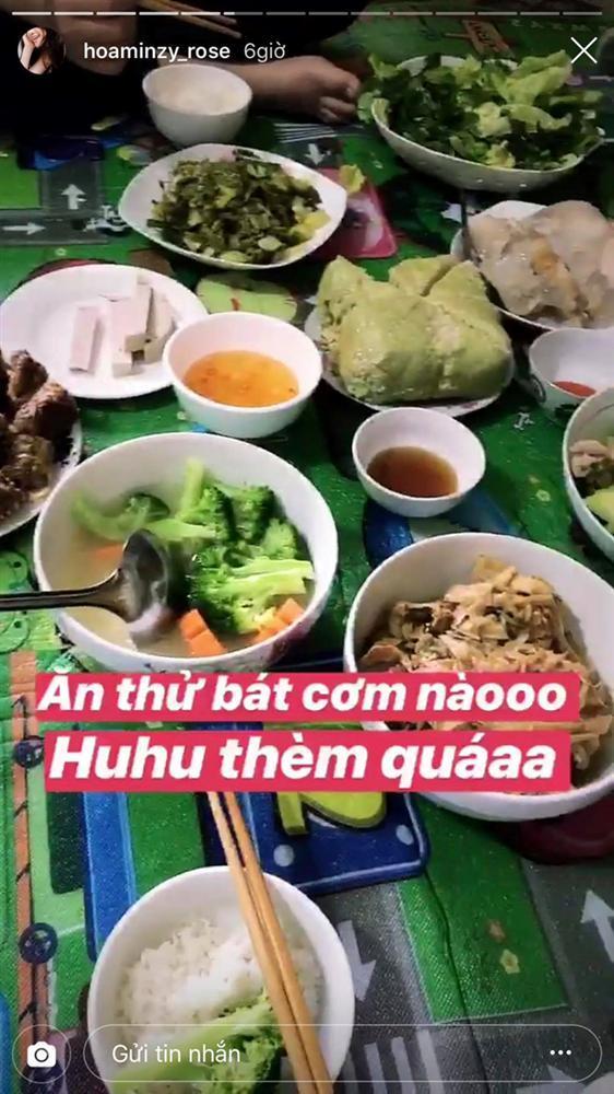 Tăng Thanh Hà, Ngọc Lan khoe bữa cơm, mâm cúng ông bà 30 Tết-5