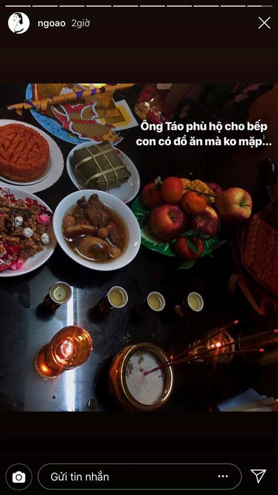Tăng Thanh Hà, Ngọc Lan khoe bữa cơm, mâm cúng ông bà 30 Tết-6