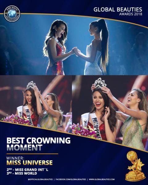 HẾT HỒN: Lăn đùng bất tỉnh trên sân khấu, Hoa hậu Hòa bình 2018 được trao giải Đăng quang ấn tượng-1