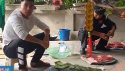 Đức Huy đi chơi chợ Tết, nấu bữa tất niên cùng gia đình