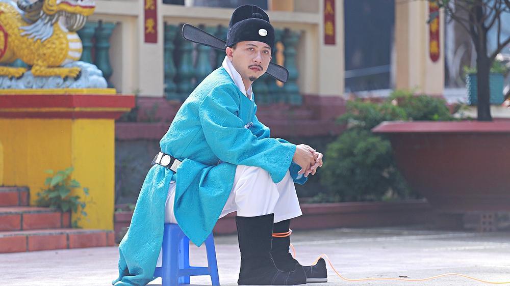 Hứa Minh Đạt: Tôi áp lực khi phải đối đầu với nhiều đối thủ nặng ký trên đường đua phim Tết-1