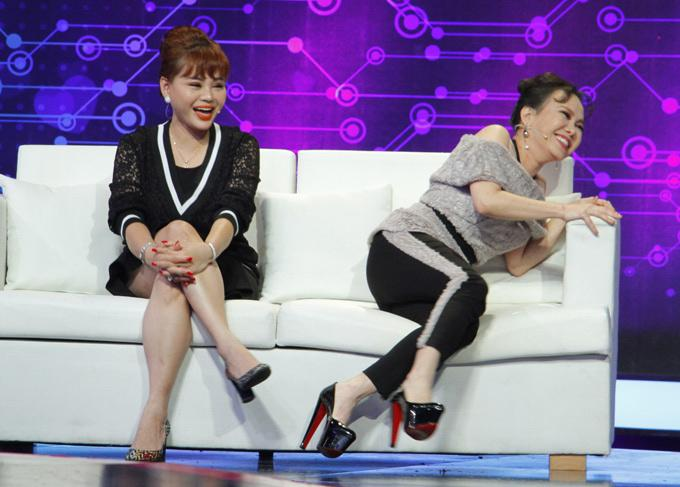 Mỹ nhân Việt nhờ cậy giày siêu cao để không lép vế-9