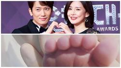 Vợ chồng nổi tiếng Ji Sung - Lee Bo Young hạ sinh con thứ 2