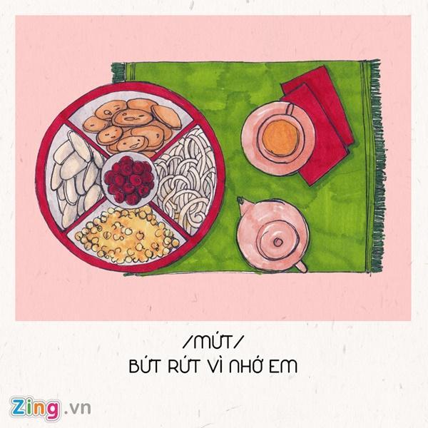 Hết ế ngay lập tức với 8 câu thả thính theo tên các món ăn Tết-1