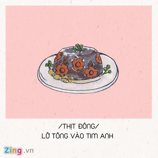 Hết ế ngay lập tức với 8 câu thả thính theo tên các món ăn Tết-10