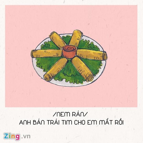 Hết ế ngay lập tức với 8 câu thả thính theo tên các món ăn Tết-7