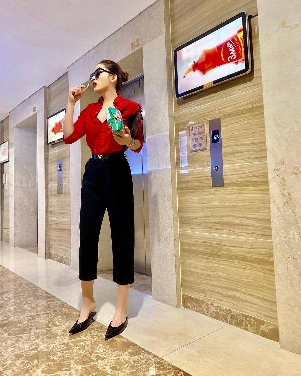 Bí kíp diện sắc đỏ cho cả năm may mắn của sao Việt-1