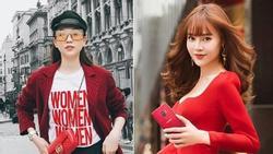 Bí kíp diện sắc đỏ cho cả năm may mắn của sao Việt