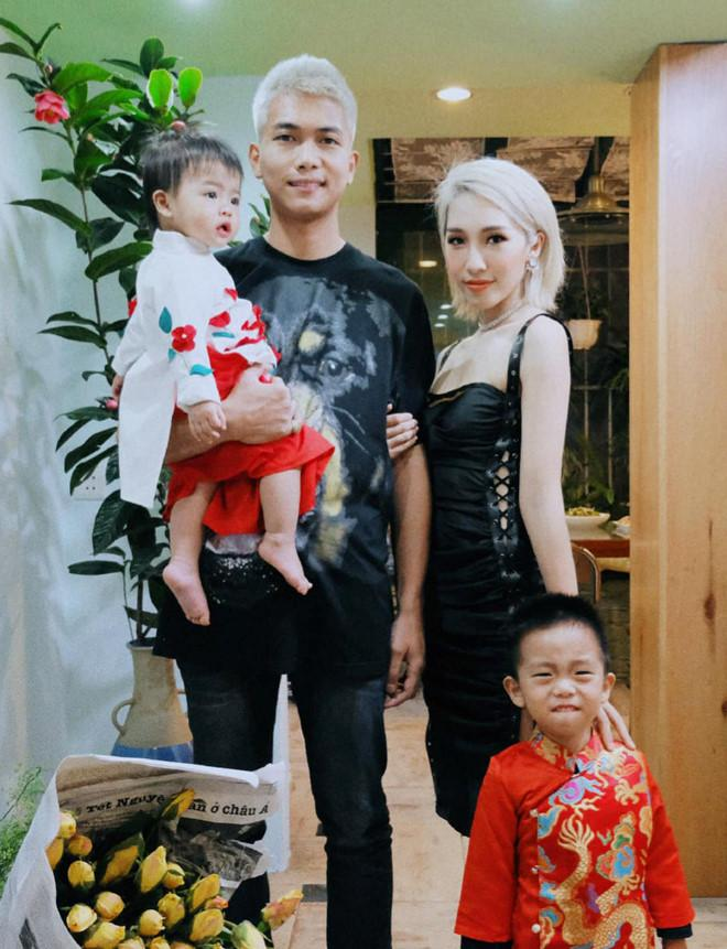 Sao Việt xúng xính diện áo dài ngày Tết: Angela Phương Trinh chơi lớn khi kết hợp với tông Lào giản dị-6