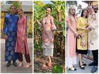 Sao Việt xúng xính diện áo dài ngày Tết: Angela Phương Trinh 'chơi lớn' khi kết hợp với tông Lào giản dị