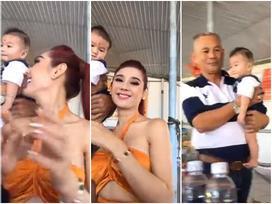 Livestream cao hứng, Lâm Khánh Chi công khai luôn con trai ruột sinh từ tinh trùng của mình và trứng của chị dâu