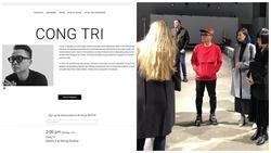 TIN VUI ĐẦU NĂM: NTK Công Trí xuất hiện hoành tráng trên tạp chí Elle của Mỹ