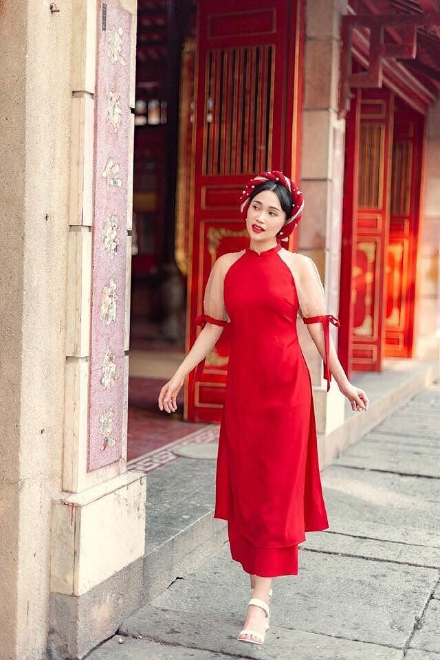 So kè nhan sắc đầu năm khi 9 mỹ nhân đụng hàng một mẫu áo dài: hoa hậu, ca sĩ hay diễn viên xinh hơn?-8