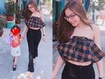 Ăn mặc hớ hênh, bạn gái Quang Hải bị nhắc nhở đúng mùng 2 Tết