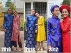 'Giàu nứt đố đổ vách' mà vẫn siêu tiết kiệm: chồng Tăng Thanh Hà mặc lại áo dài cưới mỗi dịp Tết đến xuân về