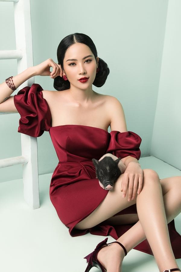 SAO TRANG ĐIỂM ĐẸP ĐẦU NĂM: Diệp Lâm Anh hiền như cô Tấm - Phạm Băng Băng để mặt mộc vẫn xinh không có đối thủ-2