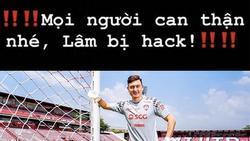 Đặng Văn Lâm bị hacker chiếm đoạt Facebook có 800.000 lượt theo dõi