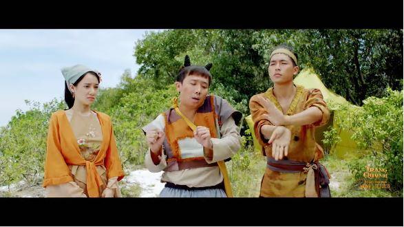 Trấn Thành đem tiểu phẩm hài của Thánh đà đa vào phim Trạng Quỳnh-1