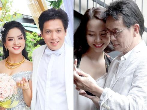 Quý ông showbiz Việt lấy vợ kém cả 20 tuổi
