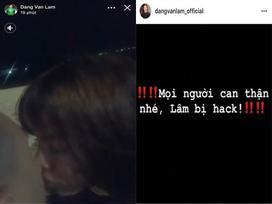 Mất tài khoản mạng xã hội, Facebook mang tên thủ môn Đặng Văn Lâm bất ngờ để lộ clip riêng tư bên một cô gái