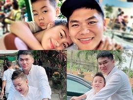 Lê Phương hạnh phúc khi chồng kém tuổi đưa con trai riêng về quê ăn Tết