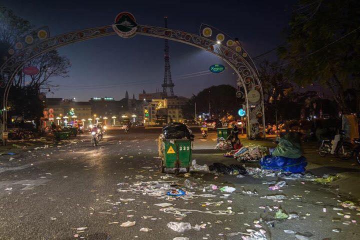 Khủng khiếp: Rác ngập tràn các con đường ở Đà Lạt sau 5 ngày Tết?-7