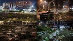 Khủng khiếp: Rác ngập tràn các con đường ở Đà Lạt sau 5 ngày Tết?
